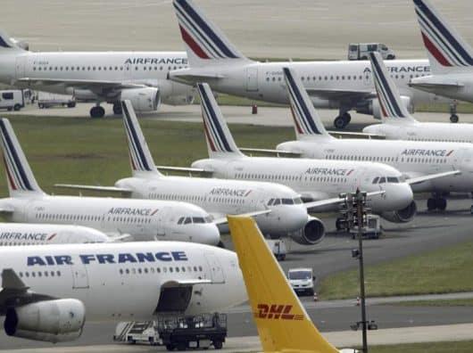 Grève Air France du 7 avril 2018 : 70% des vols maintenus, 34% de pilotes grévistes.