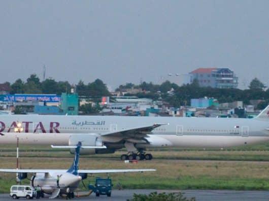 Boeing 777-300ER Qatar Airways (A7-BAP)