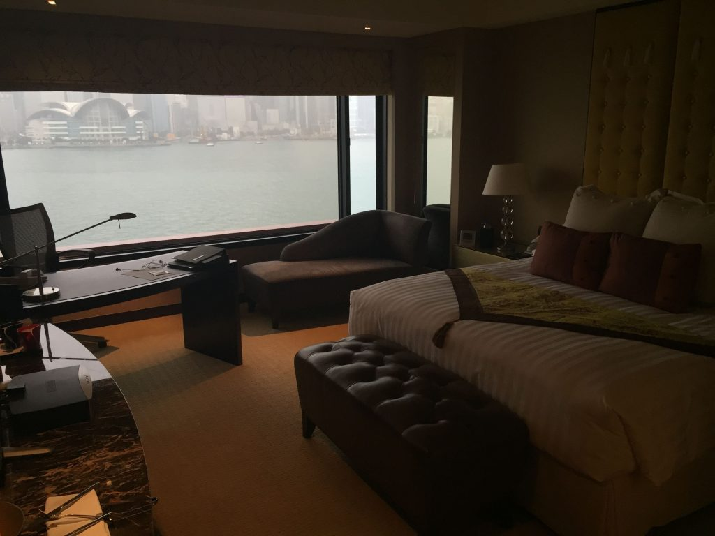 Chambre Hotel Intercontinental Hong Kong