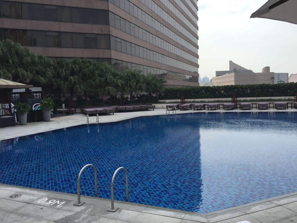 Pool @ Intercontinental Hong kong