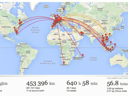 Frequent Flyers, gardez l'historique de vos vols sur FlightDiary
