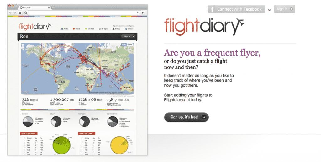 Flight-diary-home