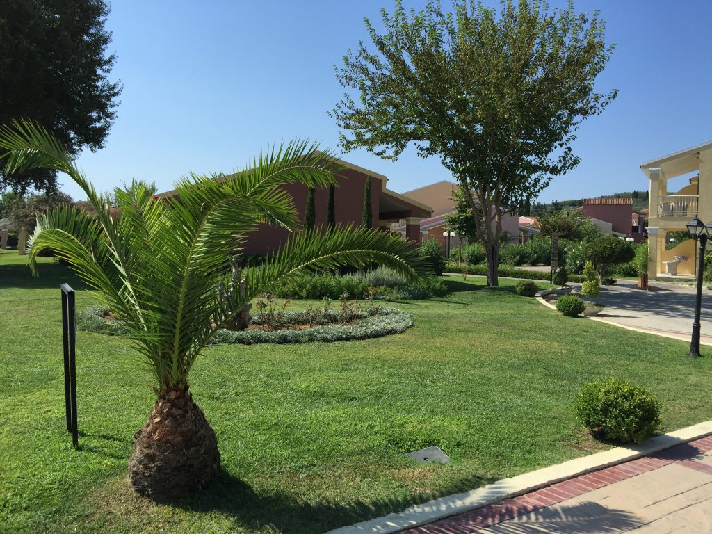 Jardins de l'hôtel Mayor Capo di Corfu