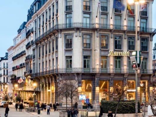 Marriott Brussels : Emplacement exceptionnel, chambre basique