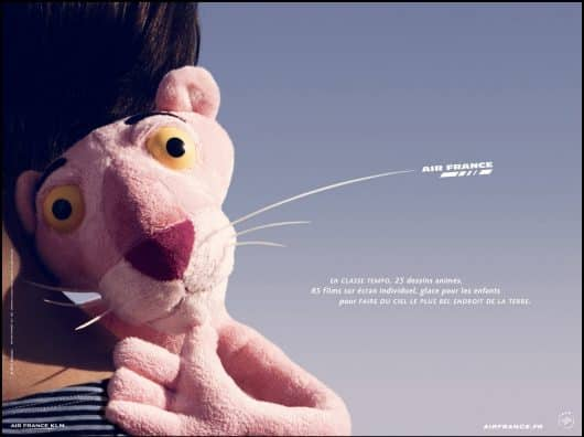 Air France c'est du marketing, mais c'est aussi une compagnie