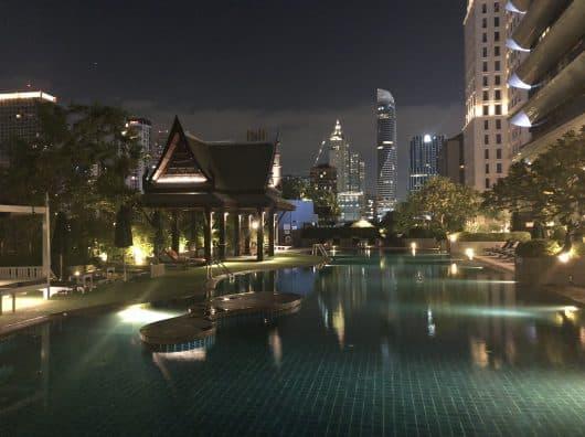 Athenee Bangkok : un bel hôtel de luxe qui pourrait encore mieux faire