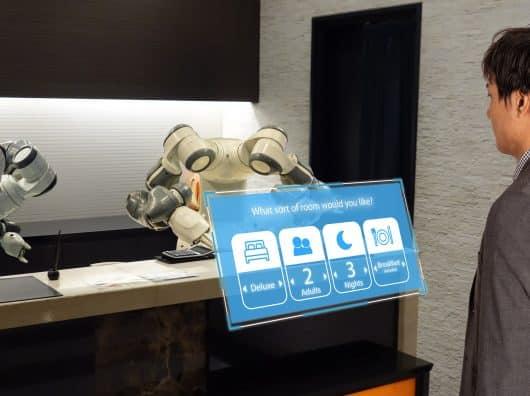 Les robots ne voleront pas les jobs dans l'hôtellerie. Ou pas tous