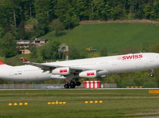 Promo sur la First et la business de Swiss, départ Paris ou Zurich