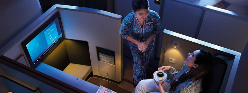 Malaysia business Suite sur A350