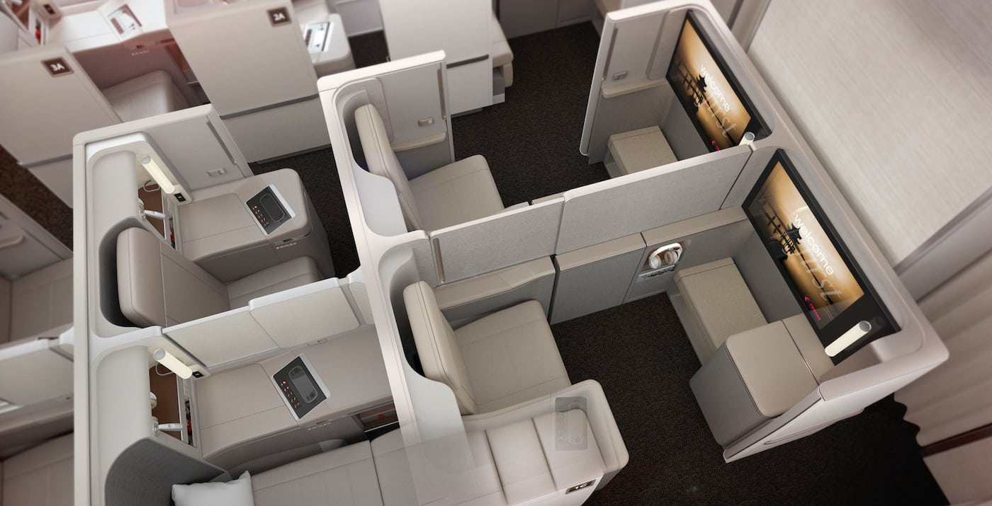 China Eastern business class suite