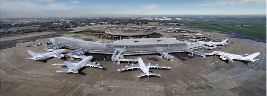Le futur Terminal 1 de Roissy