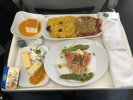 Review : Lufthansa Business Class, Francfort-Istanbul, A320