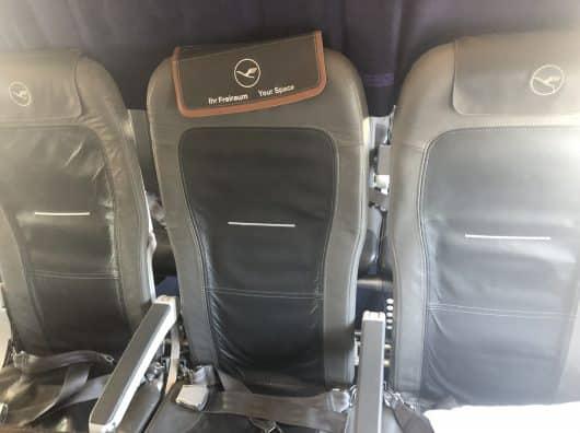 Review : Lufthansa Business Class A320, Paris-Francfort
