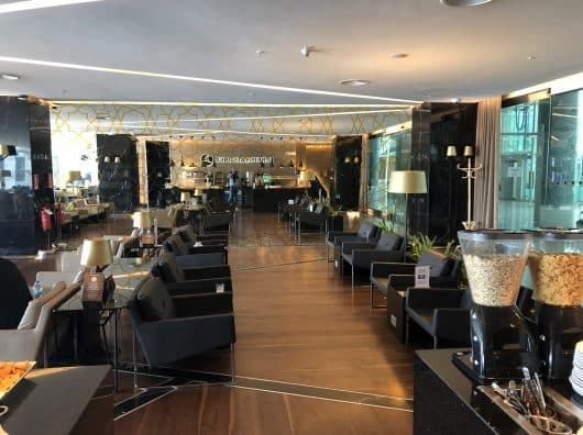 Review : Turkish Airlines Business and Elite plus Lounge, Izmir
