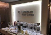 Bar de la Première Classe Lufthansa