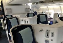 Business Class A330 China Eastern
