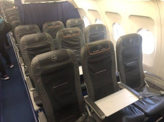 Review : Lufthansa, Business, Paris-Francfort sur A321