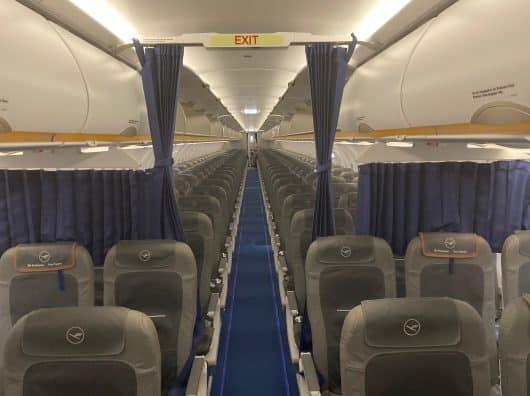 Review : Paris-Francfort, Lufthansa Business Class sur A320 Neo
