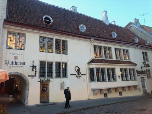 Restaurant Balthasar Tallinn