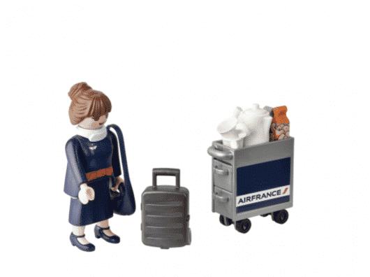 Quel service sur Air France avec les restrictions sanitaires du COVID ?