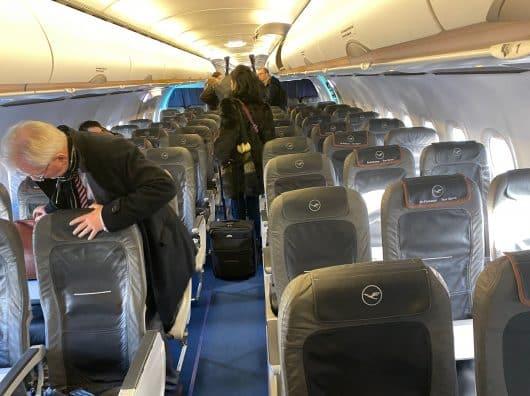 Review : Lufthansa Business Class, Munich-Francfort, A321