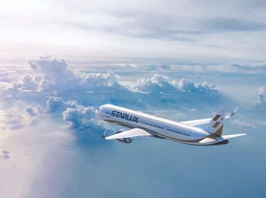 Il n'y a pas que des compagnies aériennes qui disparaissent...d'autres (re)naissent aussi