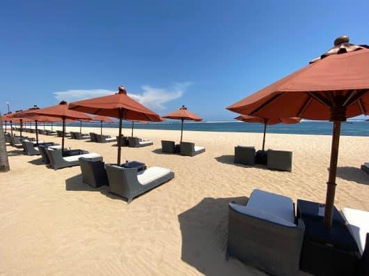 Review : St Regis Bali, Villa avec accès Lagon