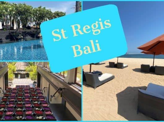 Vidéo : à la découverte du St Regis Resort à Bali