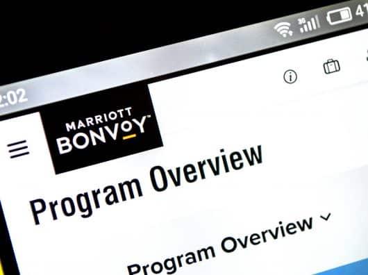 Belle dévaluation du programme de fidélité chez Marriott Bonvoy