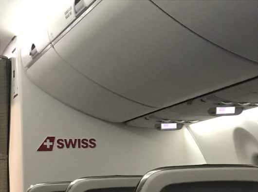 Review : Swiss Economy, Zurich-Bruxelles, Airbus A220-300