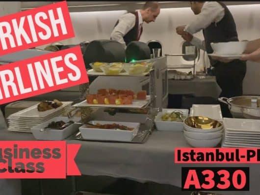 Vidéo : L'expérience business class sur Turkish Airlines en long courrier entre Istanbul et Phuket