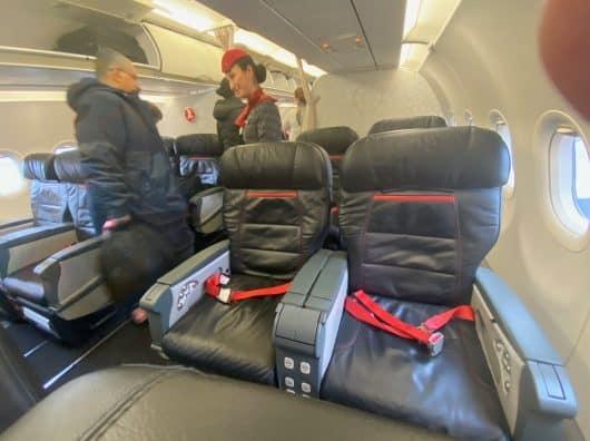 Review : Turkish Airlines Business Class entre Stockholm et Istanbul sur B737