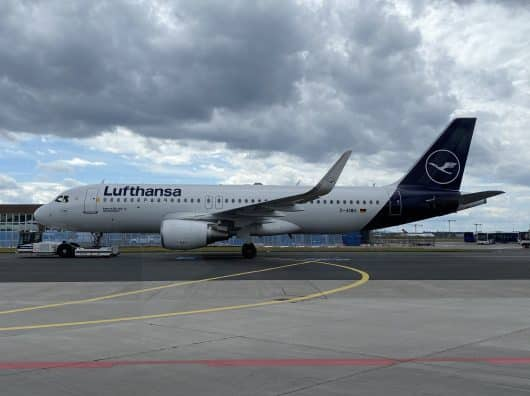 Review : Lufthansa Business post-COVID, Munich-Francfort, Airbus A320