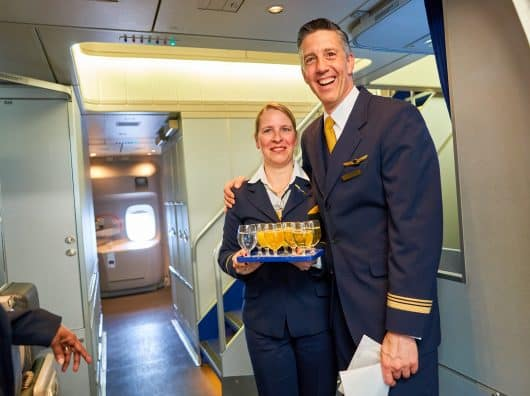 Quel service sur Lufthansa avec les restrictions sanitaires du COVID ?