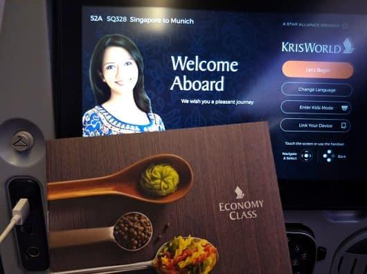 Quel service sur Singapore Airlines avec les restrictions sanitaires du COVID ?