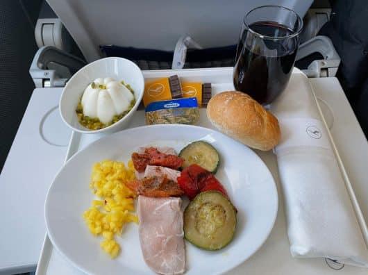 Lufthansa Business [Post-Covid], Paris-Francfort