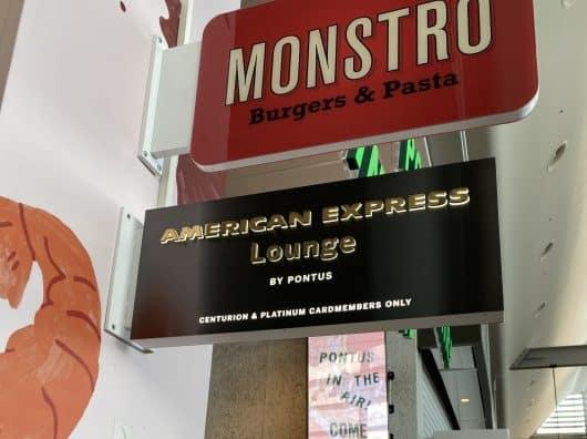 Salon American Express, Stockholm Arlanda : Un restaurant ?