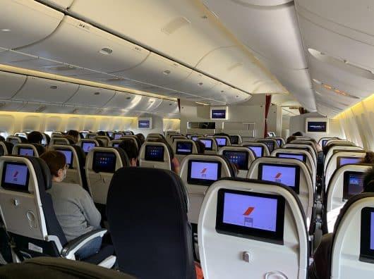 Air France Economy, Paris-Tokyo, période de confinement